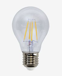 Star Trading Illumination LED Klar filament Normal E27 2700K 4W (35W) Dimmbar