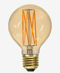 Star Trading Vintage Gold 1800K LED filament Ø80 3,8W (25W)
