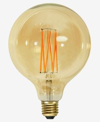 Star Trading Vintage Gold 1800K LED filament Ø125 3,8W (25W)