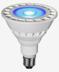 Star Trading Spotlight LED PAR38 13W Blå E27 IP65