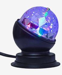 Star Trading Bordlampe Disco LED-lys