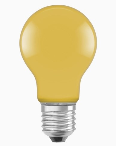 Osram LED-pære CL A Décor Yellow E27 2W (15W)