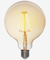 Airam Antique LED Filament Glob Ø125mm E27 2200K 5W Dimbar (35W)