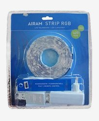 Airam LED-strip 3m RGB 2 12V 24W. 4107190