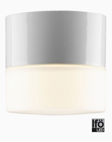Ifö Electric Opus 100/100 LED 4W/3000K. Hvit. 8201-800-10
