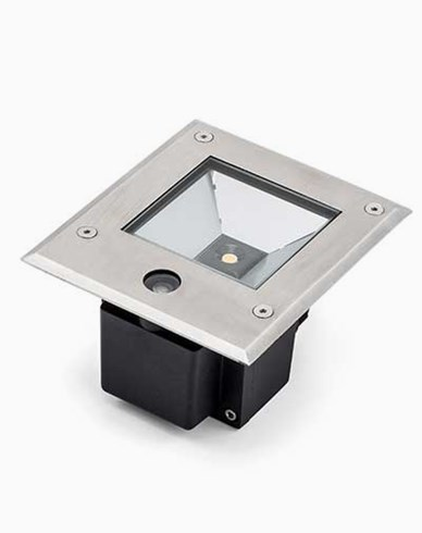 Konstsmide High Power LED 230V bakkespot med skumringssensor 9W. 7953-310