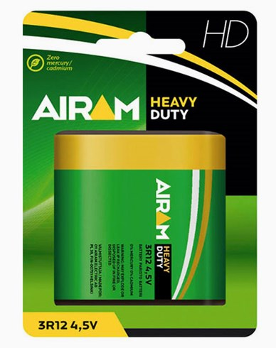 Airam Heavy Duty 3R12 4,5V batteri