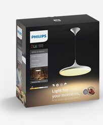 Philips Hue Cher pendant white 1x39W 24V. Inkl switch