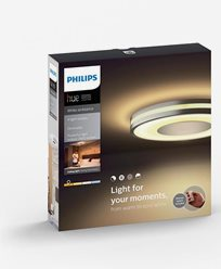 Philips Hue Being ceiling lamp BT aluminium 1x40W 230V. Inkl switch