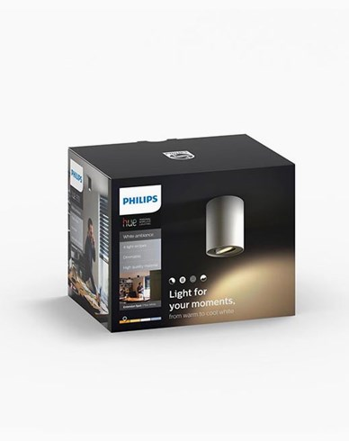 Philips Hue Pillar ext. kit single spot white 1x