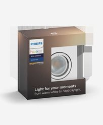 Philips Hue MILLISKIN recessed sq white 1x5.5W 230V (without remote)