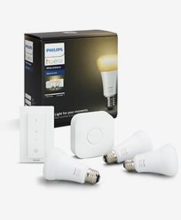 Philips Hue White Ambiance 3 bulb + switch starter kit EMEA